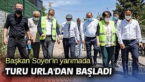 Başkan Soyer'in yarımada turu Urla'dan başladı