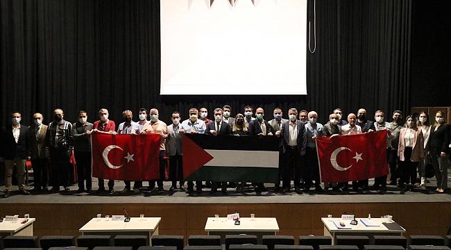 Bergama Belediye Meclisi Toplantısı'ndan İsrail'e kınama