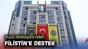 Buca Belediyesi'nden Filistin'e destek