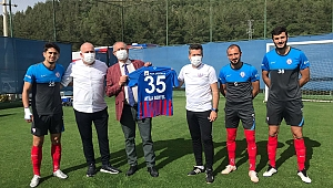 CHP'li Sertel'den play-off öncesi İzmir'in takımlarına moral ziyareti