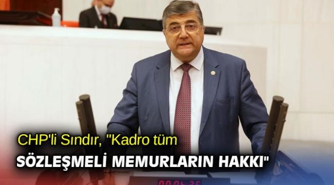 CHP'li Sındır,