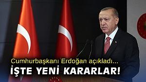 Cumhurbaşkanı Erdoğan açıkladı: İşte yeni normalleşme!