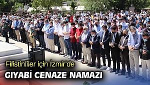Filistinliler için İzmir'de gıyabi cenaze namazı