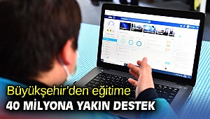 İzmir Büyükşehir'den eğitime 40 milyona yakın destek