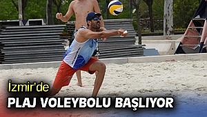 İzmir'de plaj voleybolu başlıyor