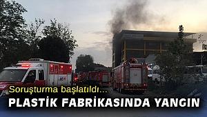 İzmir'de plastik fabrikasında çıkan yangın hasara neden oldu