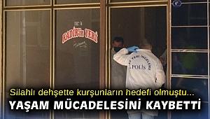 İzmir'deki silahlı dehşette bir kişi hayatını kaybetti