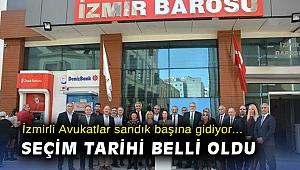 İzmirli Avukatlar sandık başına gidiyor! Seçim tarihi belli oldu