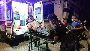 Kumar masasında polise yakalanan tansiyon hastası fenalaştı