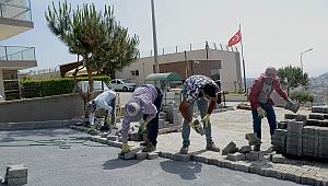 Kuşadası'nda 29 bin metrekare yol yapıldı