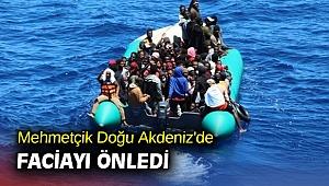 Mehmetçik Doğu Akdeniz'de faciayı önledi