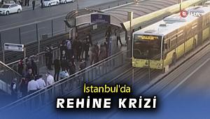 Metrobüs durağında rehine krizi!