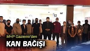 MHP Gaziemir'den kan bağışı