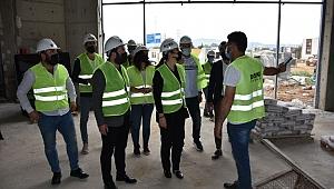 Milletvekili Bölünmez Çankırı, yapımı devam eden inşaatları inceledi