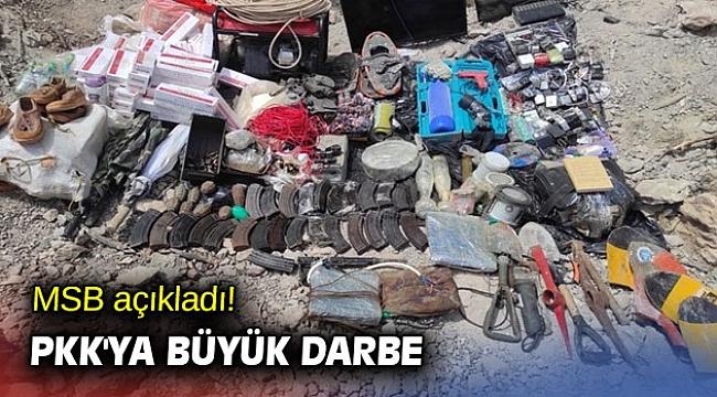 MSB açıkladı! PKK'ya büyük darbe