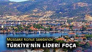 Müstakil konut talebinde Türkiye'nin lideri Foça
