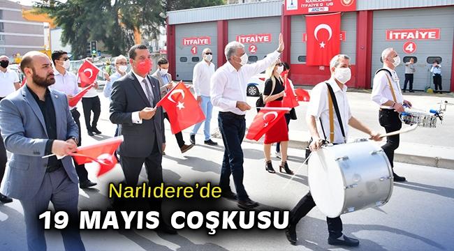 Narlıdere'de 19 Mayıs coşkusu