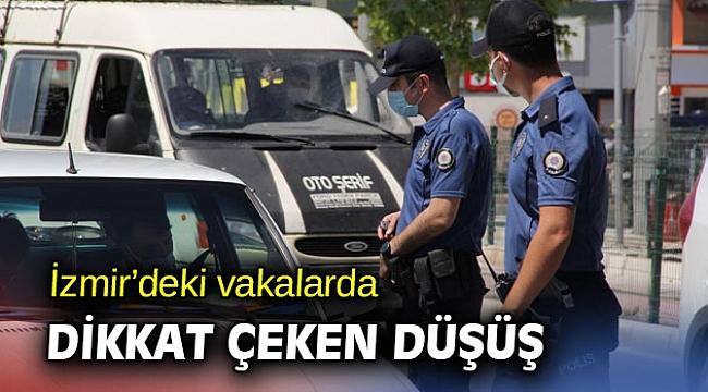 Tam kapanmada İzmir'de vakalar düştü