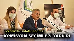 Torbalı'da istifalar sonrası komisyon seçimleri yapıldı