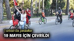 Torbalı'da pedallar 19 Mayıs için çevrildi