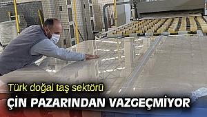 Türkiye'nin Çin'e doğal taş ihracatı yüzde 41 arttı
