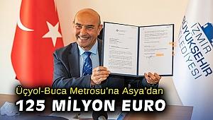 Üçyol-Buca Metrosu'na Asya'dan 125 milyon Euro