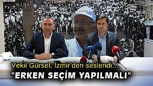 Vekil Gürsel, İzmir'den seslendi…