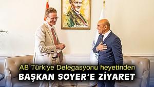 AB Türkiye Delegasyonu heyetinden Başkan Soyer'e ziyaret
