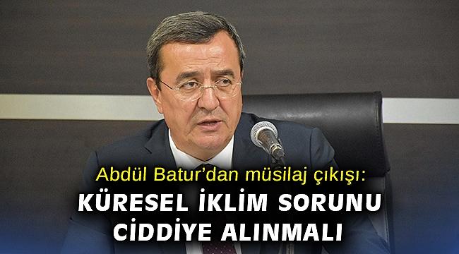 Abdül Batur'dan müsilaj çıkışı: Deniz salyası tehdidine karşı göreve hazırız