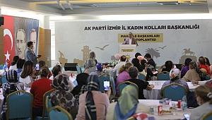 Sürekli, Mahalle Başkanları Bölge Toplantısı'nda konuştu: 'İzmir tamam inşallah'