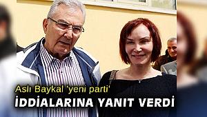 Aslı Baykal 'yeni parti' iddialarına yanıt verdi