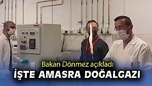 Bakan Dönmez açıkladı 'İşte Amasra doğalgazı'