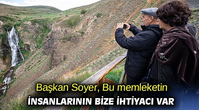 Başkan Soyer: Bu memleketin insanlarının bize ihtiyacı var