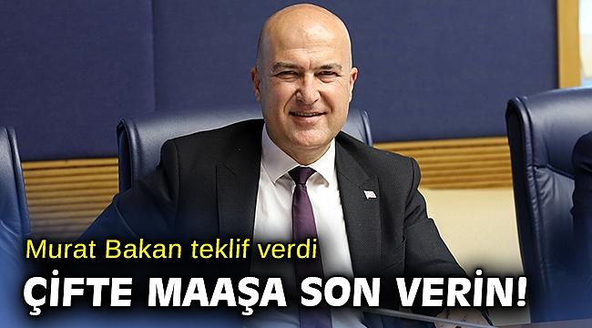 CHP'den kamudaki ikinci üçüncü maaşları kaldıran yasa teklifi