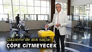 Gaziemir'de atık ilaçlar çöpe gitmeyecek