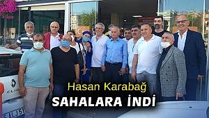 Hasan Karabağ sahalara indi