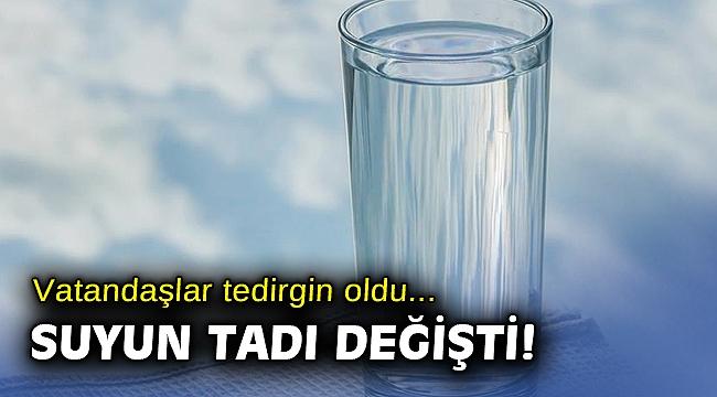İzmir'de suyun tadı neden değişti? İzsu'dan açıklama...