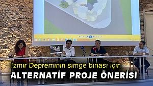 İzmir depreminin simge binası için alternatif proje önerisi