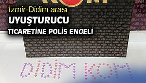 İzmir-Didim arası uyuşturucu ticaretine polis engeli