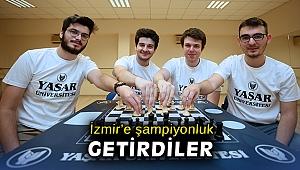 İzmir'e şampiyonluk getirdiler