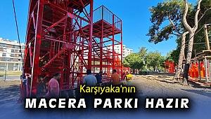Karşıyaka 'Macera Parkı'na kavuşuyor