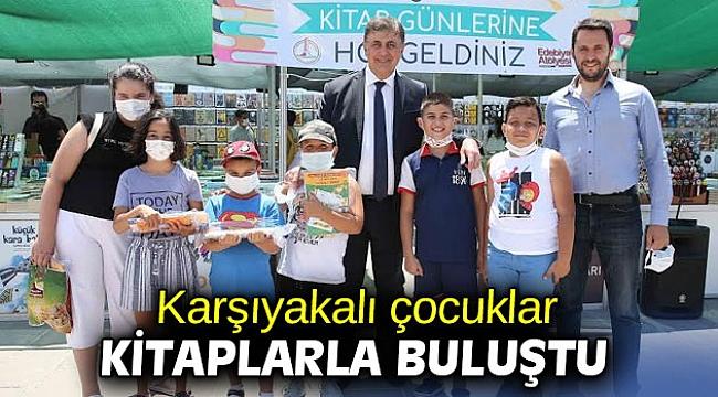 Karşıyakalı çocuklar kitaplarla buluştu