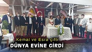Kemal ve Esra çifti dünya evine girdi