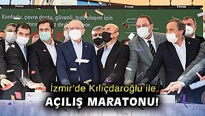 Kılıçdaroğlu, İzmir'de 4 büyük yatırımı hizmete alacak