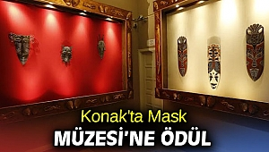 Konak'ta Mask Müzesi'ne ödül