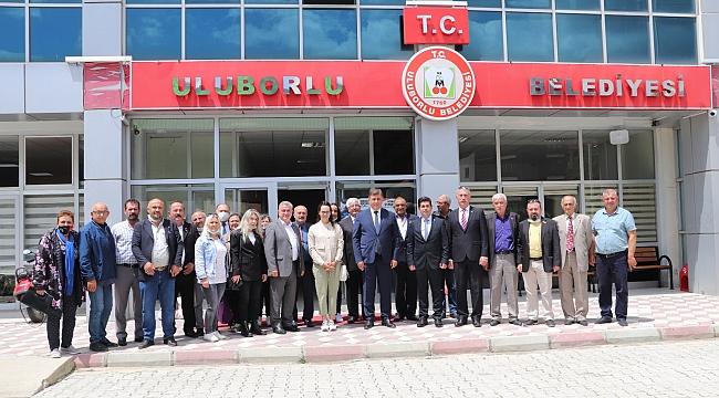 Tugay'dan kardeş Uluborlu'ya ziyaret
