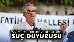 AK Parti'den Gaziemir Belediye Başkanı hakkında suç duyurusu