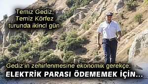Başkan Soyer'in Temiz Gediz, Temiz Körfez turunda ikinci gün