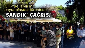 CHP'de İzmir'in bayramlaşma töreninde 'sandık' çağrısı