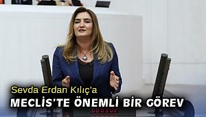 CHP İzmir Milletvekili Av. Sevda Erdan Kılıç'a Meclis'te önemli bir görev